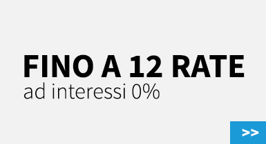 Fino a 12 rate, interessi 0